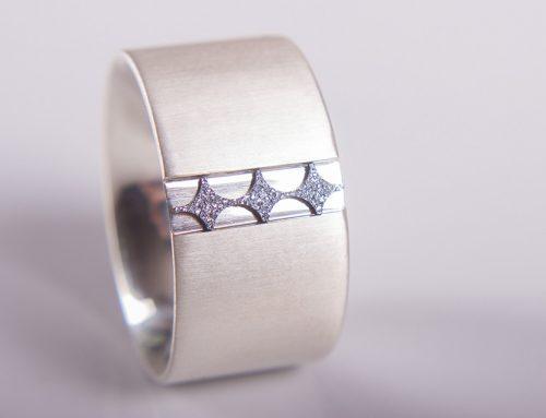 Ring mit Osmium