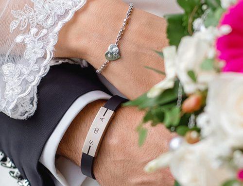 Armband Leder und Weißgold Armkette Weißgold mit Brillanten