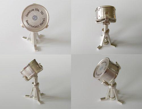 Miniatur – Snare Drum mit Osmium